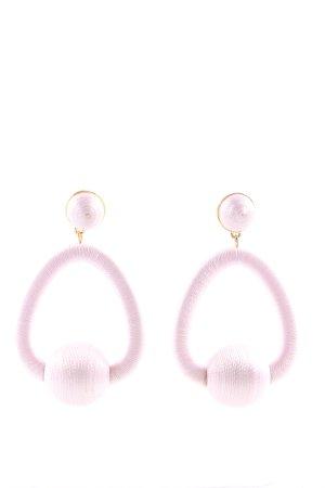 Balbina Statement Earrings pink casual look