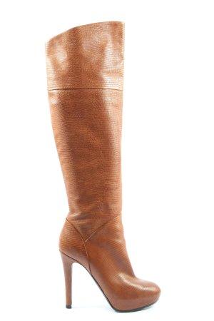 Baldan Heel Boots brown business style
