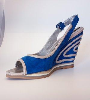 Baldinini Wedge Sandals multicolored leather