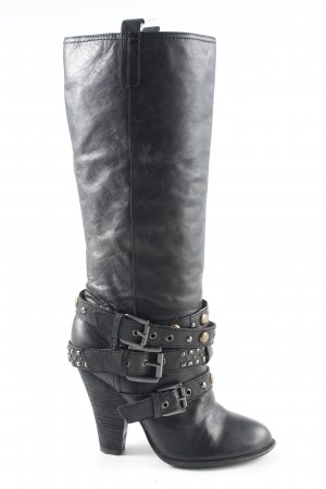 Baldinini High Heels schwarz Business-Look
