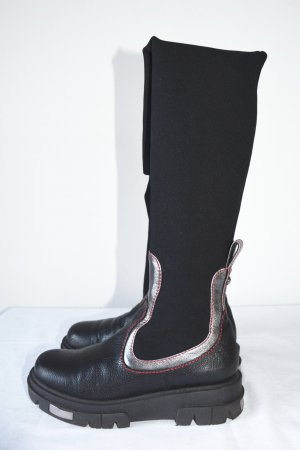 Baldinini Bottes stretch multicolore cuir