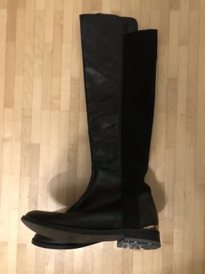 Baldinini Riding Boots black leather
