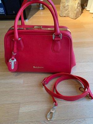 Baldinini Bowling Bag red