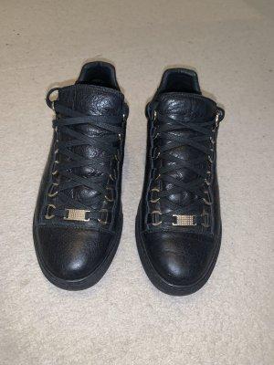 Balenciaga Chaussures à lacets noir