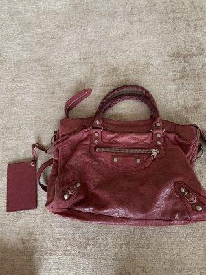 Balenciaga Carry Bag raspberry-red