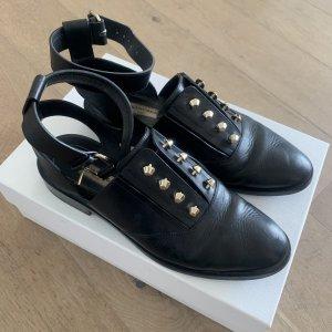 Balenciaga Pantoffels zwart