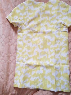 Balenciaga Abito midi bianco-giallo chiaro