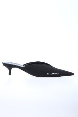 """Balenciaga Heel Pantolettes """"Knife Heeled Mule"""" black"""
