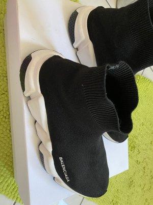 Balenciaga Slip-on Shoes black