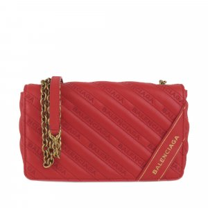 Balenciaga Crossbody bag red leather
