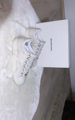 Balenciaga Wysokie trampki biały-w kolorze białej wełny