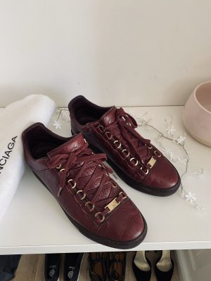 Balenciaga Arena Sneaker in Bordeaux VB