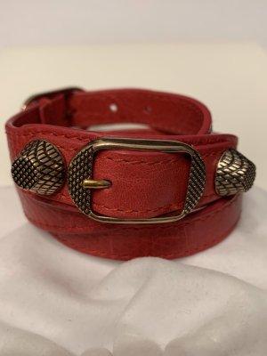 Balenciaga Braccialetto sottile rosso