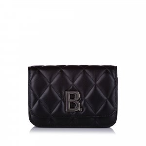 Balenciaga Bumbag black leather