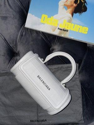Balenciaga Sac seau blanc-blanc cassé