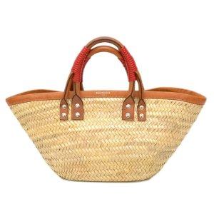Balenciaga Handbag brown leather