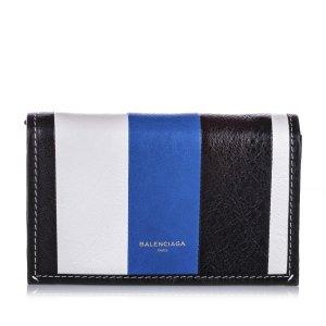 Balenciaga Bazar Leather Chain Crossbody Bag