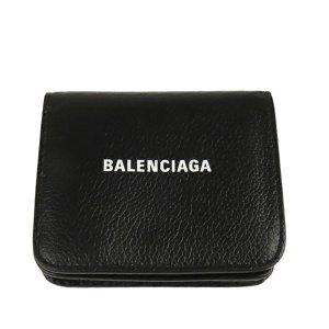Balenciaga Bi-fold Leather Compact Wallet