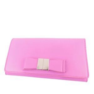 Balenciaga Bifold Ribbon Leather Wallet