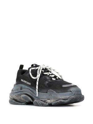 Balenciaga Sneakers met veters zwart