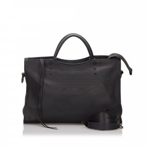 Balenciaga Blackout City Satchel