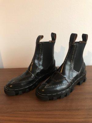Balenciaga Chelsea Boot noir-brun foncé