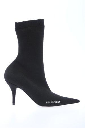 """Balenciaga Bottillons """"Knife Bootie"""" noir"""