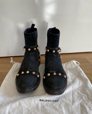 Balenciaga Chelsea Boot noir-doré