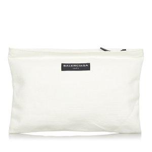 Balenciaga Borsa clutch bianco