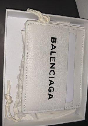 Balenciaga Portefeuille blanc-noir