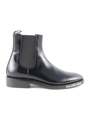 Balenciaga Chelsea Boots schwarz Casual-Look