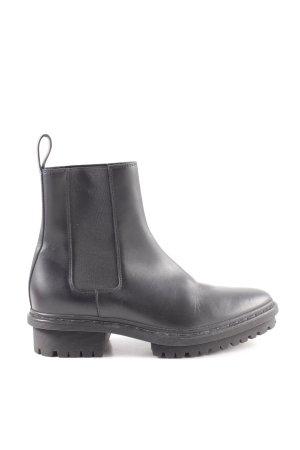 Balenciaga Chelsea Boots schwarz Business-Look