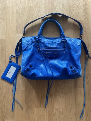 Balenciaga City bag blau