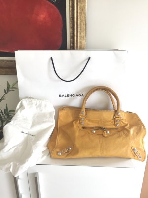 Balenciaga City Large Bag in Gelb