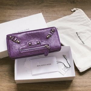 Balenciaga Wallet lilac leather