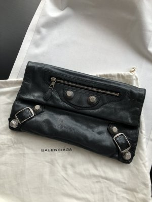 Balenciaga Clutch Classic City Envelope in Schwarz