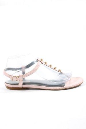 Balenciaga Sandały japonki różowy W stylu casual