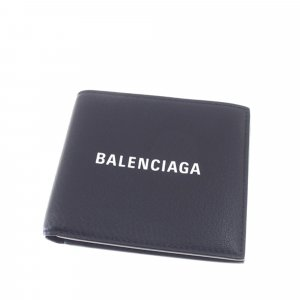 Balenciaga Wallet black leather