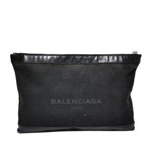 Balenciaga Everyday Canvas Clutch Bag