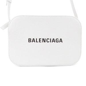 Balenciaga Sac bandoulière blanc cuir