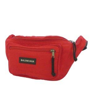 Balenciaga Bumbag red nylon