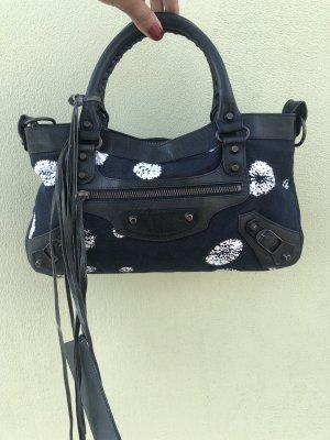 Balenciaga Handbag black-dark blue