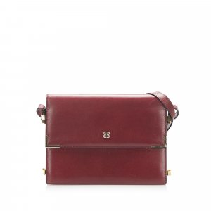 Balenciaga Shoulder Bag bordeaux leather