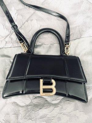 Balenciaga Handbag black-gold-colored leather