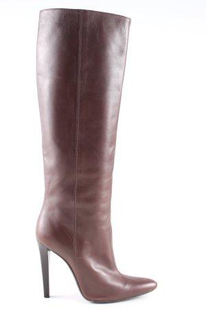 Balenciaga Bottes à talon haut brun style décontracté