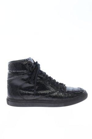 Balenciaga High Top Sneaker schwarz Animalmuster Casual-Look