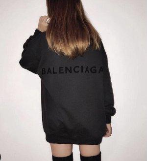 Balenciaga Sweter oversize Wielokolorowy