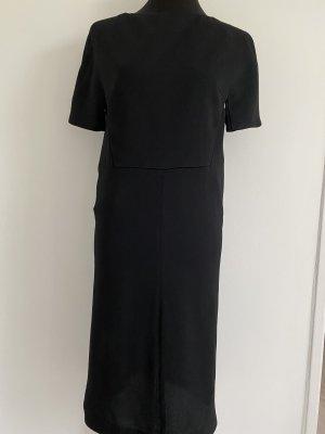 Balenciaga Falda estilo lápiz negro Viscosa