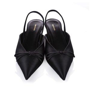 Balenciaga Escarpins noir viscose