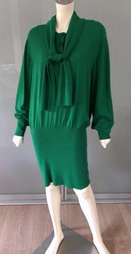 Balenciaga Vestido tejido multicolor Cachemir